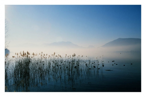 Illustration - Annecy le lac - Italis / © William Pestrimaux