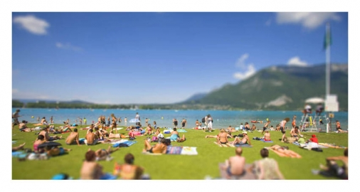 Illustration - Annecy collection miniature photo: italis / © william Pestrimaux